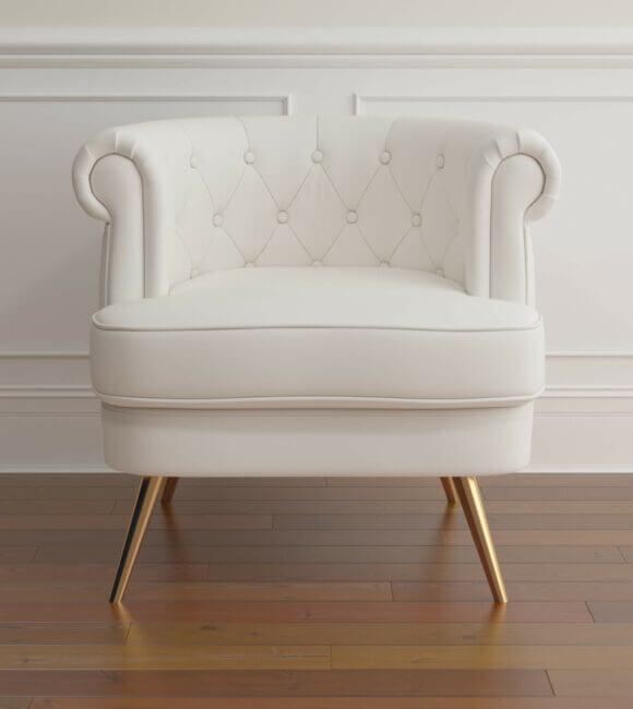Barrel Chair Simple Scene 01
