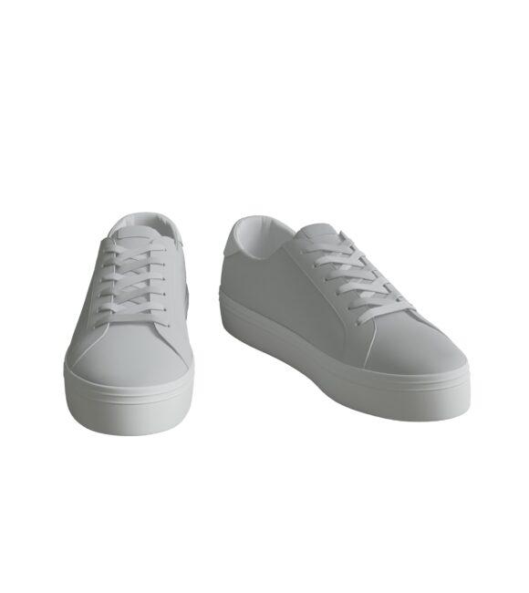 White Sneaker Studio Render