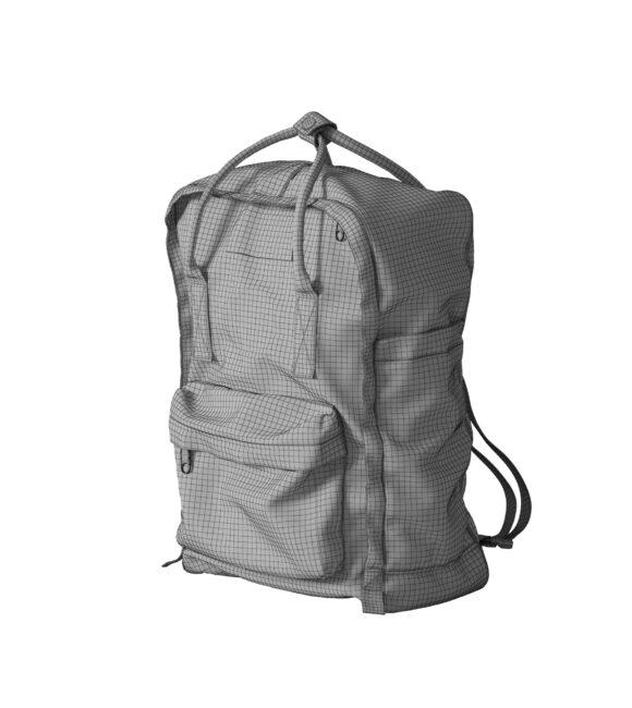 Yellow Backpack Mesh