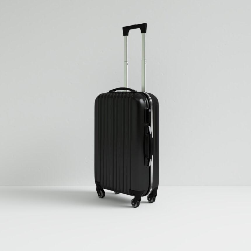 3d model luggage render