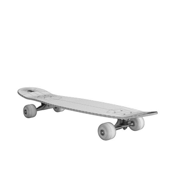 Skateboard Mesh